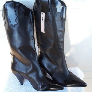 COPY - MNG by Mango Limited Edition Leather Boots